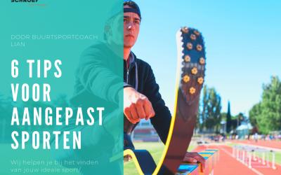 6 tips voor aangepast sporten