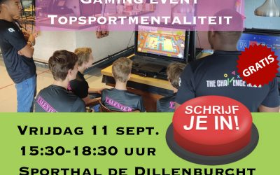 "Gaming event ""Topsportmentaliteit"""