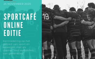 Inschrijving sportcafé 2020 geopend