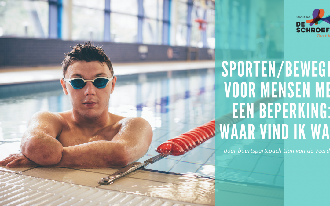 Sporten/bewegen voor mensen met een beperking: waar vind ik wat?