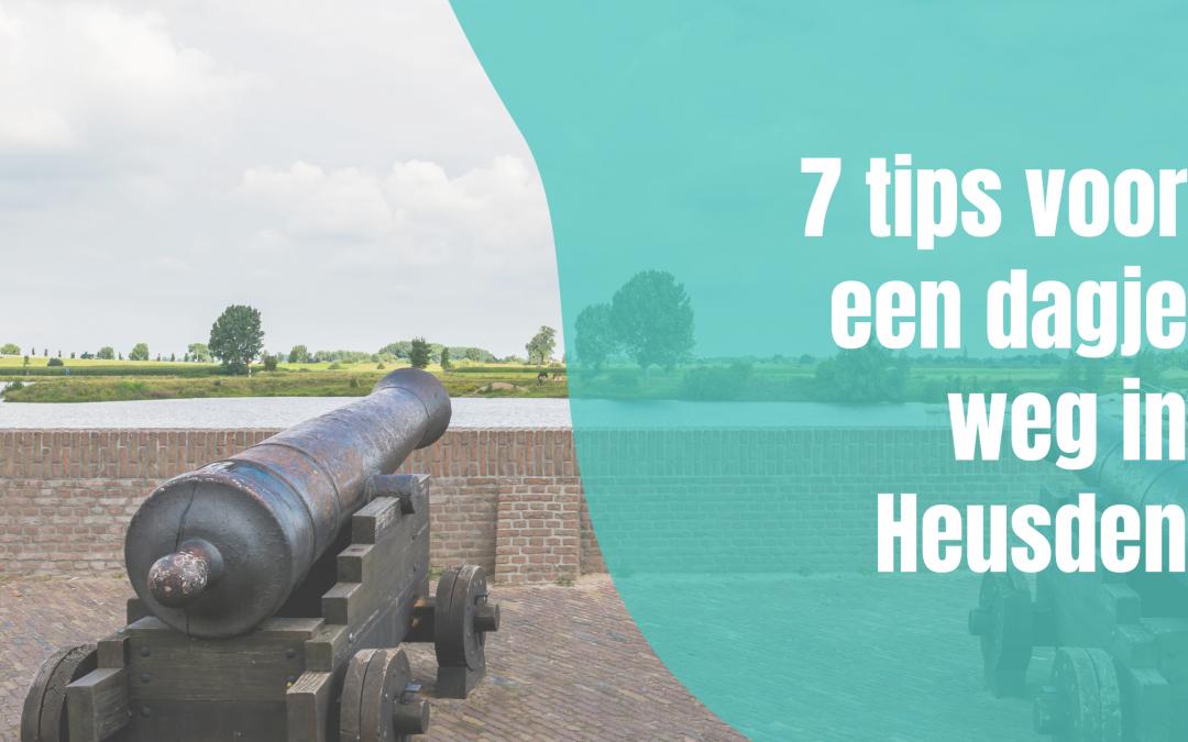 7 tips voor een dagje weg in Heusden
